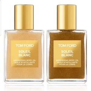 Tom Ford soleil Blanca shimmer body oil Duo new